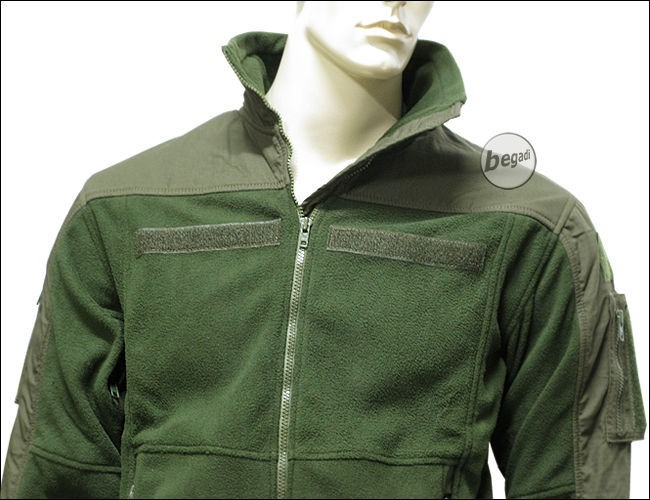 Olive Fleece Jacket | Outdoor Jacket
