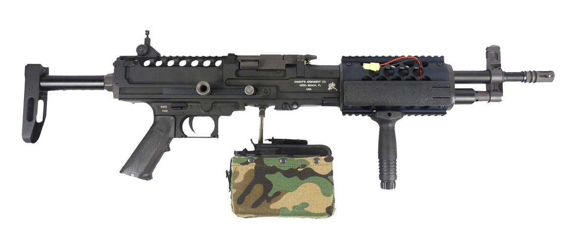 fast machine gun