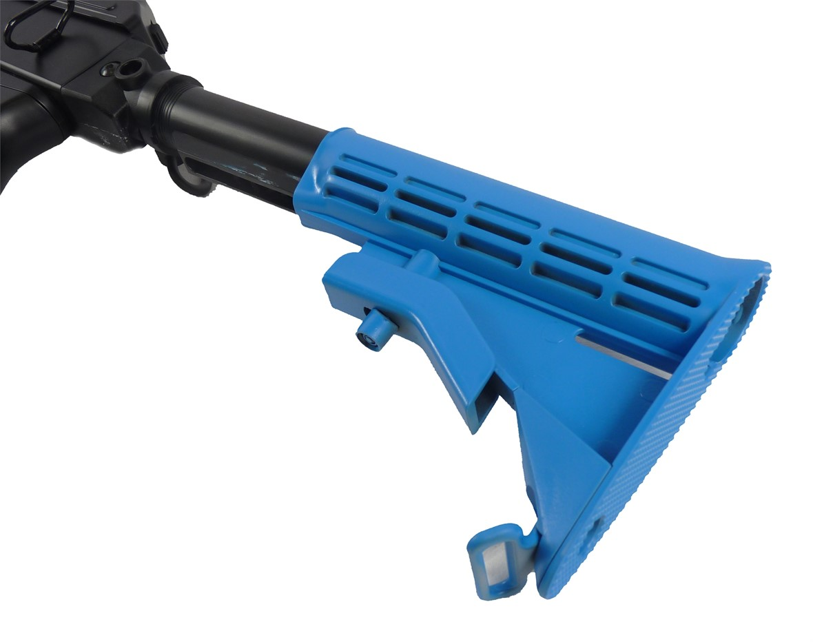 Two Tone Cyma AK47 Tactical CM521C Airsoft Gun - Blue