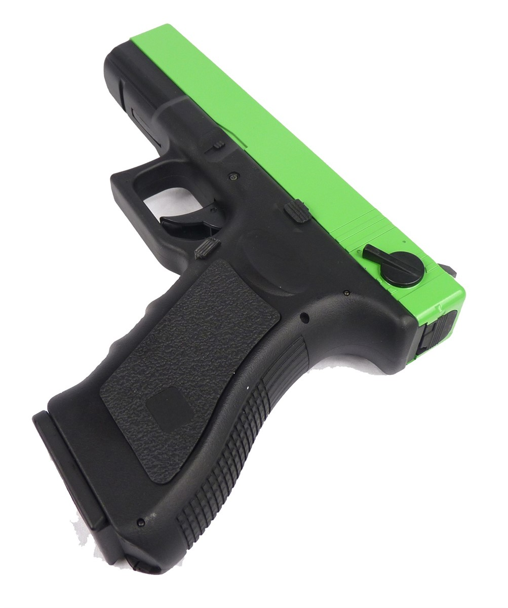 Two Tone Cyma CM030 G18C Airsoft AEP - Green | Actionhobbies