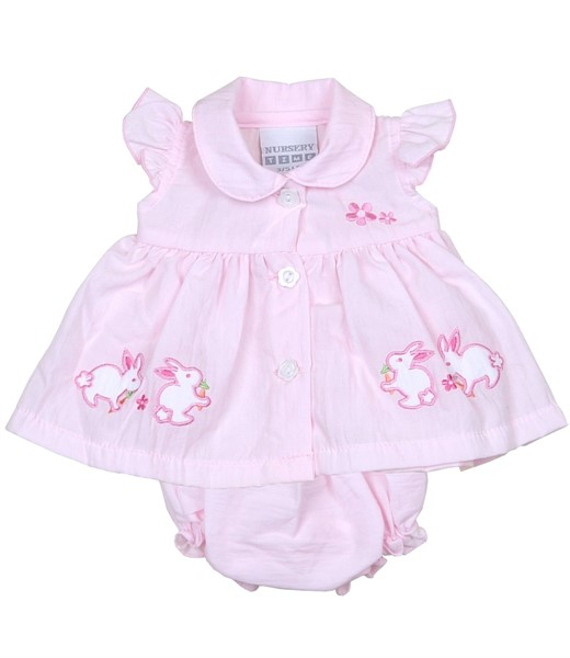 Babyprem Bunnies Premature Baby Dress
