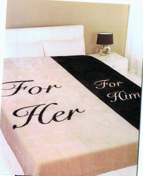 ... For Her U0026 For Him Supersoft Mink Fur Throw Blanket Ex Large Size  200x240cm Thumbnail ...