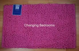 Changingbedrooms Com Fuchsia Pink 100 Soft Cotton Heavy