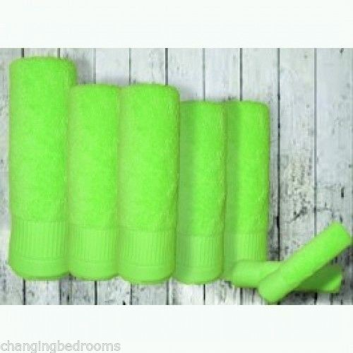 Changingbedrooms Com Pack Of 12 Bright Lime Green 500gsm