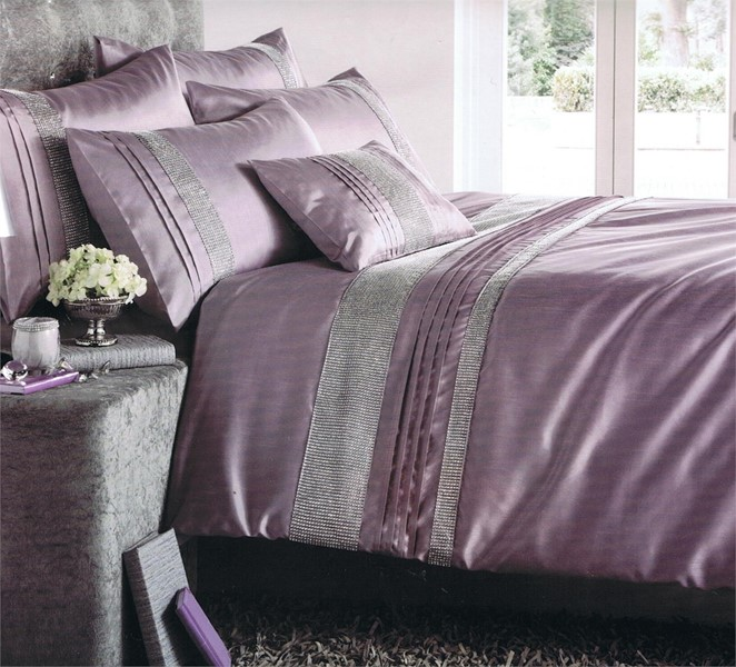 Changingbedrooms Com Stylish Heather Purple Embellishe D