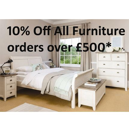 10% Off All Furniture Orders Over £500!
