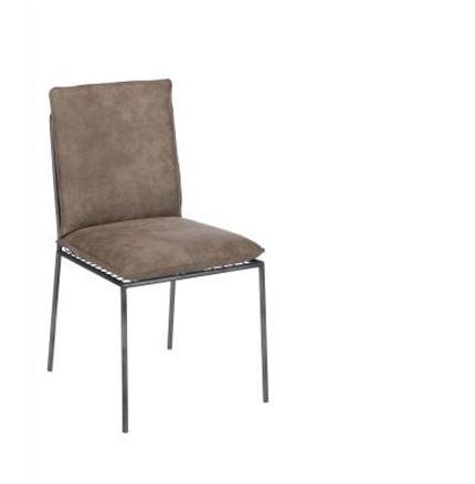 4x Harper Dining Chairs - Light Grey