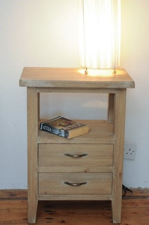 Aged Pine Side Table - Bedside - now discontinued