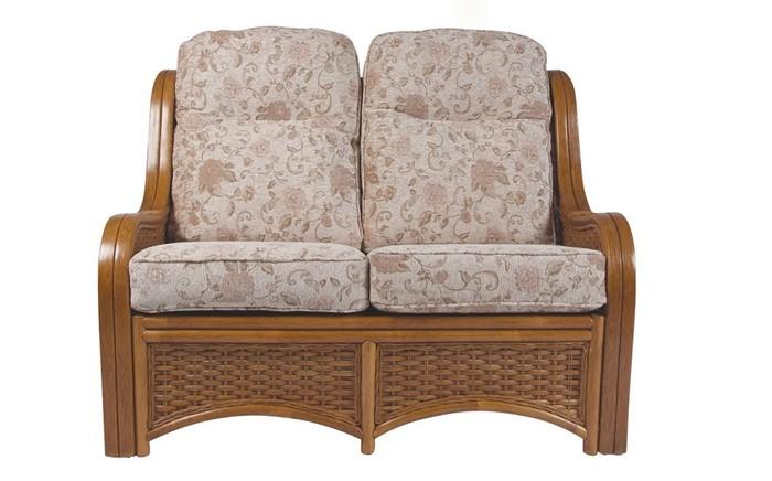 berlin 2 seater sofa cane furniture by desser. Black Bedroom Furniture Sets. Home Design Ideas