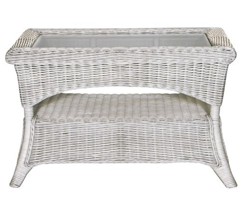 Calabria Coffee Table - White By Pacific Lifestyle
