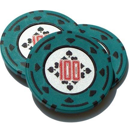 Cartamundi Luxury Poker Chips - 100 's - Diamond Design