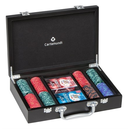 Cartamundi Luxury Poker Set - Diamond design chips