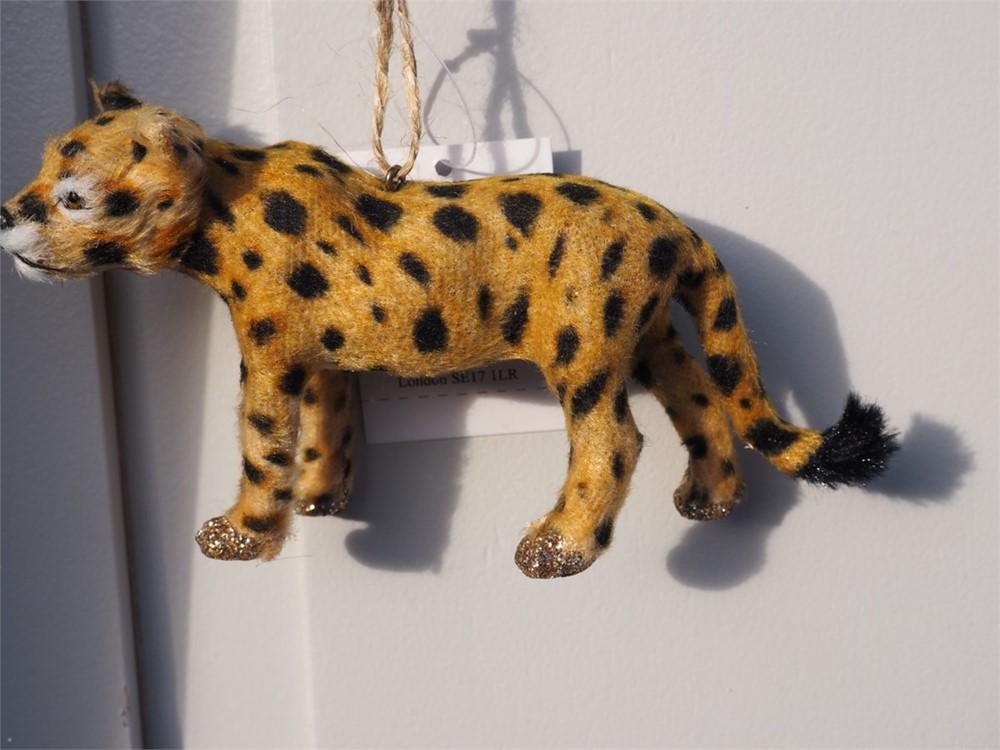 Christmas Decoration - Leopard
