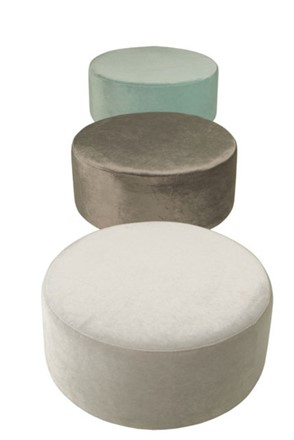 Circle Footstool / Pouffe by Sits