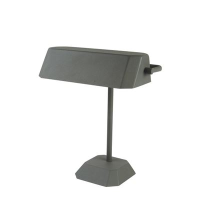 Desk Table Lamp - Grey - bankers style