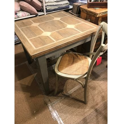 EX DISPLAY - Anson Square Dining Table 90cm - Hardy Dining Furniture