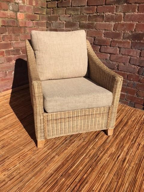 Ex Display Dijon Armchair - Cane Furniture by Desser