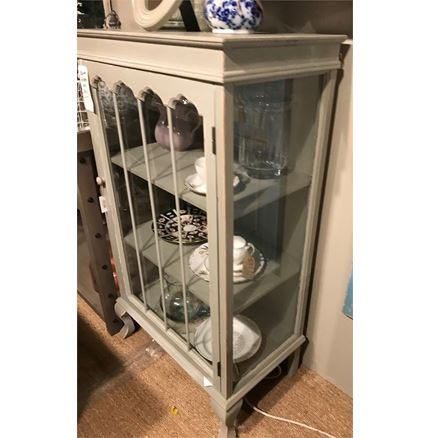 Ex Display French Grey Cabinet