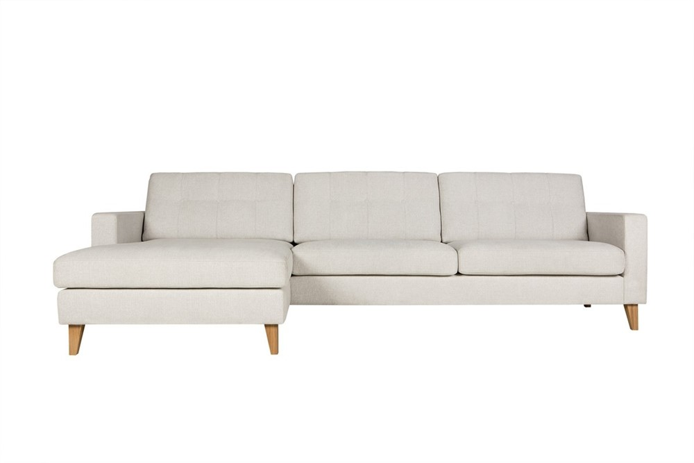 Giorgio 3 seater corner sofa with chaise 1 by sits for 3 seater couch with chaise