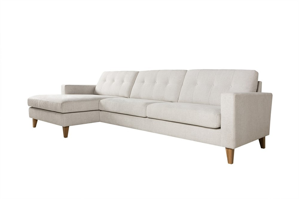Giorgio 3 seater corner sofa with chaise 2 by sits for 2 seater sofa with chaise