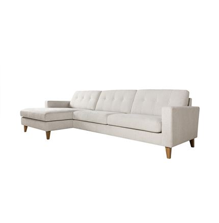 Giorgio 3 seater corner Sofa with chaise 2 by Sits