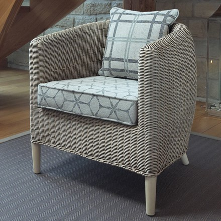 Havana Chair - Pebble Finish by Pacific Lifestyle