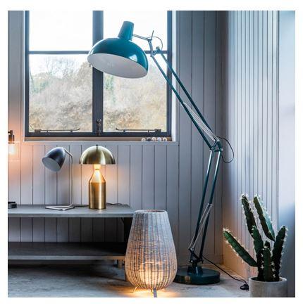 Holmes Floor Lamp - Teal