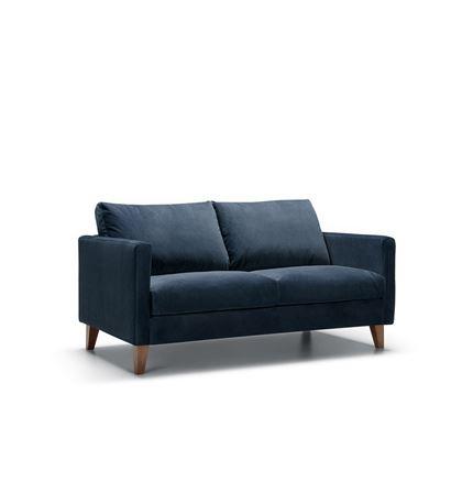 Impulse 2 seater Sofa by Sits - in Bellis Dark Blue