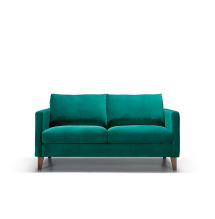 Impulse 2 seater Sofa by Sits - in Bellis Turquoise