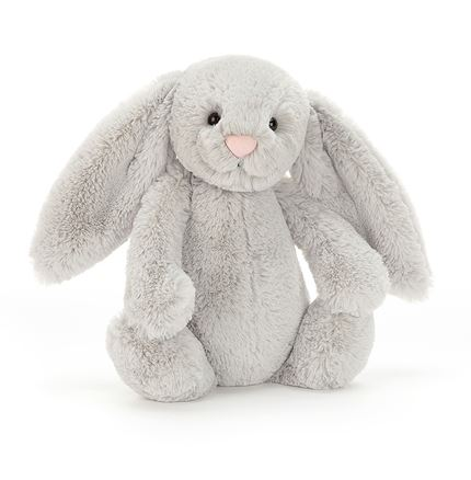 Jellycat soft toy - Bashful Silver Bunny - Medium