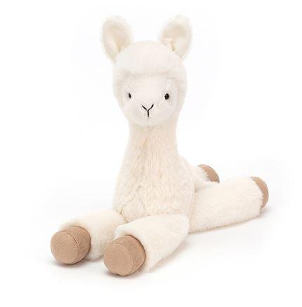 Jellycat soft toy - Dillydally Llama - Small