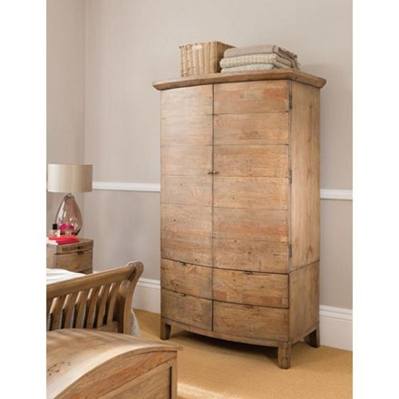 Large Double Wardrobe - Bermuda Bedroom Furniture