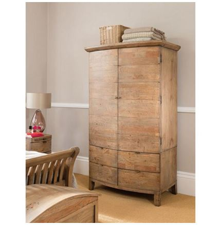 Large Double Wardrobe - Bermuda Bedroom Furniture