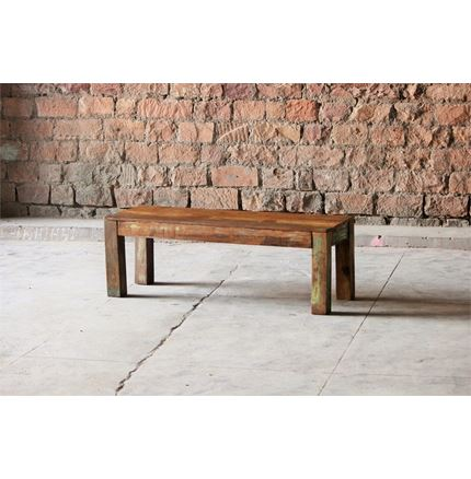 Little Tree Reclaimed Furniture - Mary Rose Medium Upcycled Dining Bench