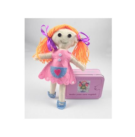 Make Your Own Ragdoll - Gifts in a Tin Range by Apples To Pears