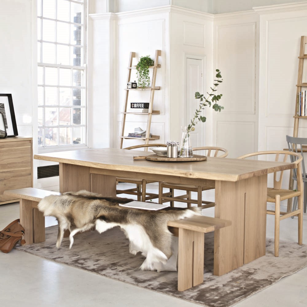 Malmo 210cm Dining Table - now 65% off - with cross back chair off