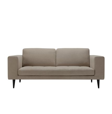 Markus 3 seater Sofa by Sits - in Dark Beige Fabric