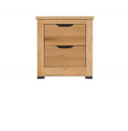 Milan Bedroom Furniture - 2 Drawer Bedside