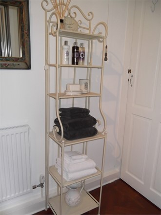 Old Tin Bath 6 heights shelf unit