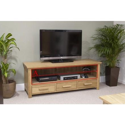 Opus Oak TV / Plasma Unit / stand - Medium