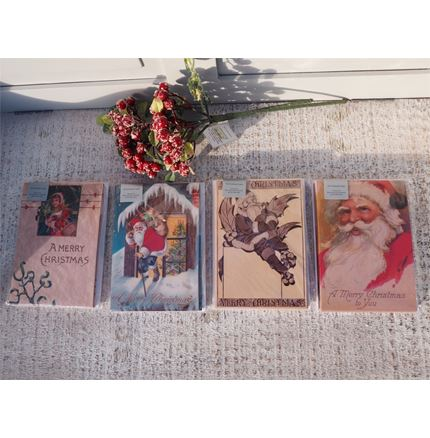 Pack of 10 Christmas Cards by Ashmolean -A