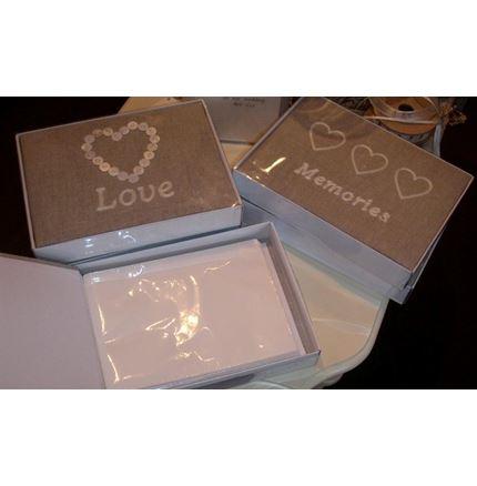 Photo Album - fabric Heart design
