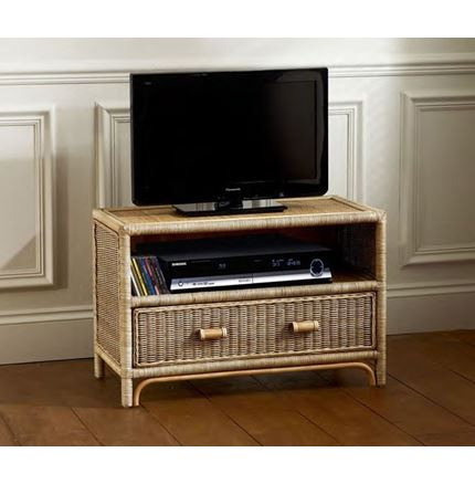 Rattan - cane TV stand - unit