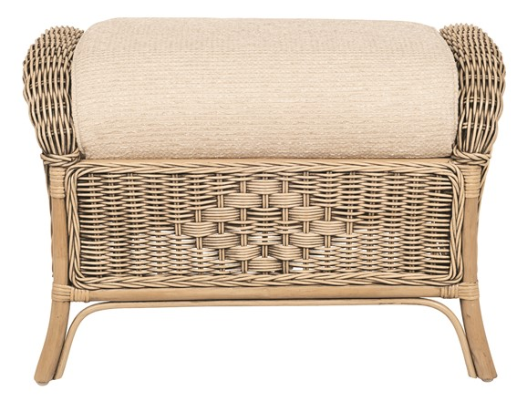 Salzburg Footstool - Pebble Finish by Pacific Lifestyle