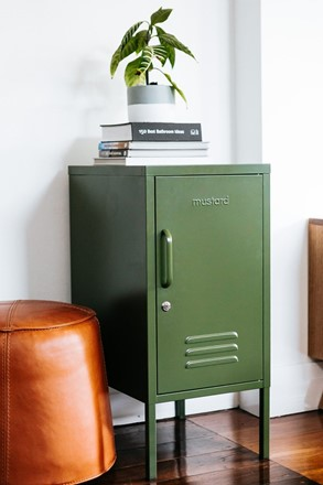 Shorty Locker by Mustard Made - Olive Green