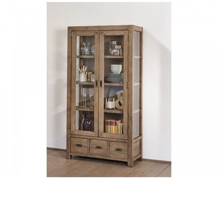 Sienna Dining Furniture - Display Cabinet