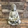 Tea Light Buddha - Stoneware thumbnail