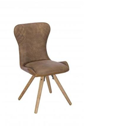 Tyler Dining Chair (real bonded leather)
