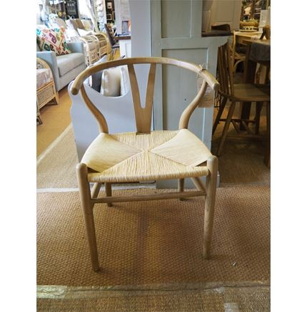 Woven Chair - 'Y' Wishbone Style