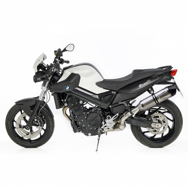 bmw f800r leovince lv one evo slip on exhaust. Black Bedroom Furniture Sets. Home Design Ideas
